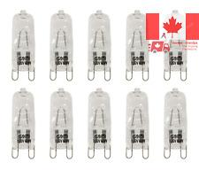 VSTAR G9 Halogen Bulb 60-Watt 120-Volt Halogen G9 Bulb Pack of 10