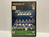 PS2 / Sony Playstation 2 game - Jikkyou World Soccer 2000 JAPAN US SELLER