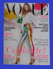 December Vogue Magazines