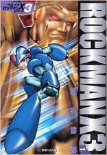 Rockman Mega Man manga Book Rock man  X3