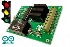 Traffic Light Controller Sequencer Changer ARDUINO Based 3 Channel 110/240V AC