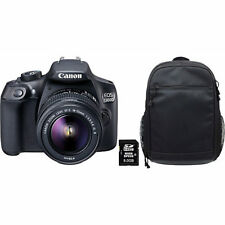 CANON EOS 1300 D + 18-55MM IS II Spiegelreflexkamera NEU OVP