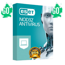 ESET NOD32 ANTIVIRUS 2020 LAST VERSION ✅ License Key 2 Years 🔥 1 PC