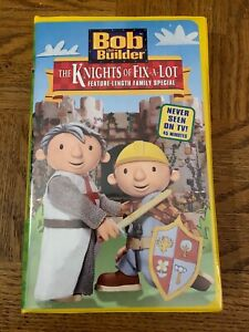 Bob The Builder The Knights Of Fix A Lot VHS