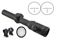 Visionking 1.25-5x26 Rifle scope & 223 Picatinny Rings Killflash Sunshade