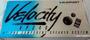 BLAUPUNKT VELOCITY | 4' PRO COMPONENT SPEAKER SYSTEM | FREE SHIPPING
