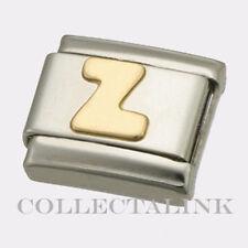 "Original Nomination Classic Gold ""Z"" Charm"