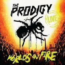 """THE PRODIGY """"LIVE THE WORLDS ON FIRE"""" CD+DVD NEW"""