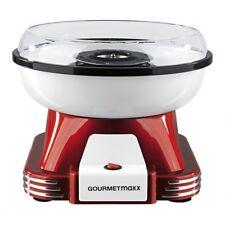 GOURMETmaxx Zuckerwatte-Maschine Cotton Candy 500 Watt Retro-Design rot/weiß