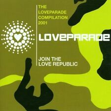 Love Parade-compilation 2001 Love Committee, Barthezz, Blank & Jones, [CD DOPPIO]