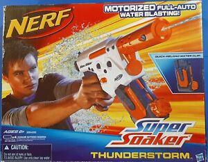 Hasbro NERF Super Soaker THUNDERSTORM Motorized Water Gun 2010, New Sealed