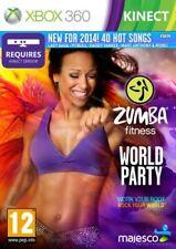 Zumba Fitness World Party Xbox 360 Kinect PAL UK **FREE UK POSTAGE!!**