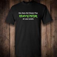 Heavy metal low volumes T Shirt Rock Metal Punk Men's Women's  Band tee clothing