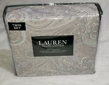 Ralph Lauren Twin sheet set 100% Cotton. 3pc. Deep pockets. New with tags