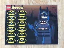 Lot of 7 Laminated Chores Rewards Sticker Charts - Lego, Batman, Tron, More!