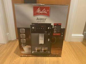 Melitta Avanza Fully Automatic Bean to Cup Espresso Coffee Machine - Black 1450w