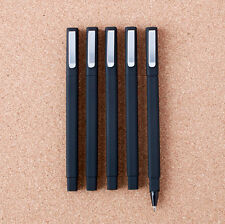 10 PCS Black Gel Ink Ball Point Pen Black Square Pen Business Office