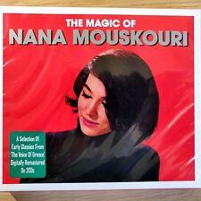2CD NEW - THE MAGIC OF NANA MOUSKOURI - Jazz Pop Greek Folk Music 2x CD Album
