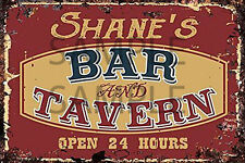 BAR TAVERN BEER DIORAMA BUILDING SIGN DECAL 3X2  MORE SIZES AVAIL