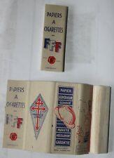 papier à cigarettes forces françaises libres  2e guerre