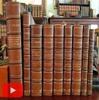George Bernard Shaw Political Philosophy Essays 1920's set of 9 leather books