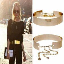 Damen Abendkleid Gürtel Metall Gold Taillengürtel Abiye Taille Breite 4.5cm
