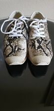 Anthropologie sixty seven  Snake Print Sneakers size 8