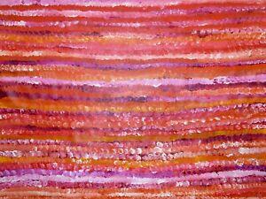 Aboriginal Art by Evelyn Pultara 89x119cm EP2952