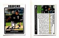Tadahito Iguchi Signed 2005 Topps Update #66 Card Chicago White Sox Autograph