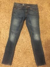 Massino Skinny Premium Denim Dark Blue Jeans Size 4 Short
