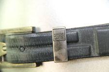 M+F GIRBAUD cinturón cinturón 80 cms negro mixto NUEVO CON ETIQUETA valor