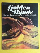 Golden Hands - Part 4, Crochet, Knitting, Dressmaking, Embroidery, Magazine