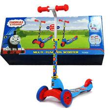 Multi Function Thomas & Friends Scooter Kids Push Kick 2 3 Wheel Car Ride On Toy