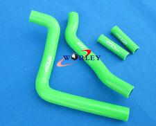 For KAWASAKI KX250 KX 250 2005 2006 2007 05 06 07 silicone radiator hose GREEN