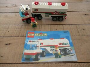 Lego System Town 6594 Gas Transit Octan Tanker Complete with instruction Manual