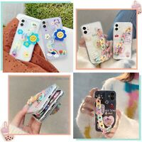 Shockproof Cartoon Chain Case For iPhone 11 12 MINI PRO MAX 8 XS XR SE 2020