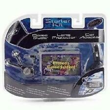 Sony PSP Starter Kit with Game Buds, Lens Protector, Car Adapter