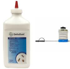 Delta Dust and Bellows Duster Deltamethrin Dust Kills Bed Bugs Ants Roaches Flea