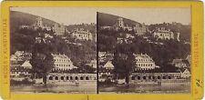 Heidelberg Allemagne Stéréo par L. Meder's Vintage Albumine