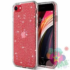 FORiPhone SE 2020 Case, Clear Glitter Soft TPU Bumper Cover Anti-Scratch & Sho