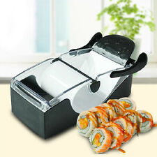 Easy Home Kitchen Magic Roll DIY Sushi Roller Mold Maker Cutter Machine Gadgets