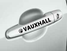 Vauxhall 4 x Door Handle Car Decal Sticker Corsa Vectra Astra Corsa 100mm