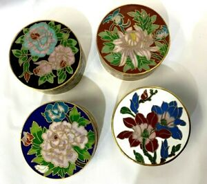 Handmade Cloisonne Trinket Container
