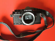PETRI MF 4 35mm Vintage SLR Film CAMERA Japan Argentique pour pièces