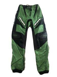 Oneal Elements Motocross Racing Long Pant Waist SZ 28 Black/Green