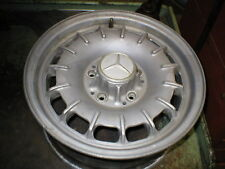 72-85 Mercedes 350 450 380 SL SLC factory Alloy BUNDT wheel 14""