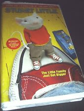 Stuart Little (VHS, 2000, Clamshell Case Closed Captioned) NEW ~ Michael J. Fox