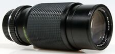 80-205MM F/4.5 LENS FOR PENTAX K W/ REAR CAP