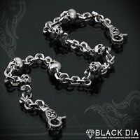 Guntwo Korean Mens Fashion Wallet Chains - Biker Skull Jean Chain C2208 US