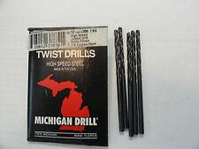 """New listing Michigan Drill 7/64"""" Jobbers Length Drill Bits"""